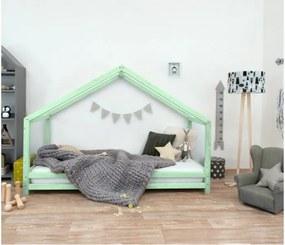 SIDY detská posteľ, Veľkosť 120 x 200 cm, Farba pastelová zelená