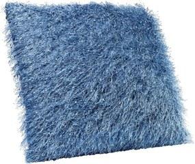 Modrý vankúš Kare Design Kelim, 45 × 45 cm