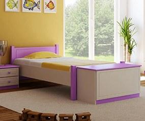AMI nábytok Detská postieľka borovica Akemi 80x200 cm