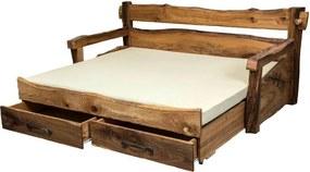 Posteľ CORONA vysúvacia Rozmer - postelí, roštov, nábytku: 90 x 200 cm