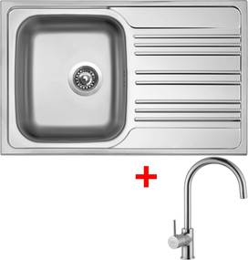 Set Sinks STAR 780 V matný + batéria VITALIA