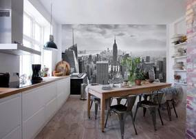 Komar Fototapeta - NYC Black And White