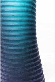 KARE DESIGN Sada 2 ks − Váza Swirl Turquoise 46 cm