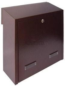 W3 - 3 poštová schránka medený antik, Medený antik