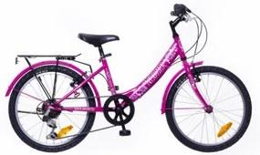 """Neuzer 20"""" Detský bicykel CINDY CITY 6SPD pink 2018"""