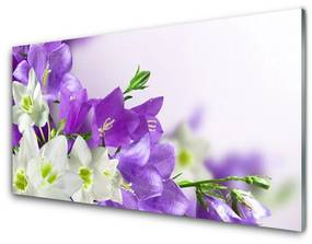Nástenný panel Kvety rastlina 100x50cm