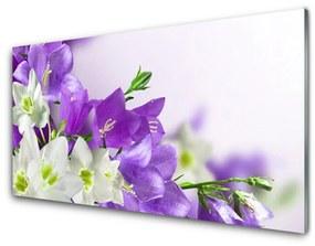 Nástenný panel Kvety rastlina 140x70cm