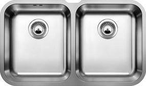Kuchynský drez pod desku - Blanco SUPRA 340/340 U nerez kartáčovaný 519716
