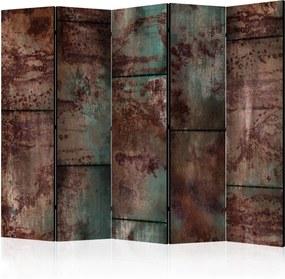 Paraván - Dark Metal Sheet [Room Dividers] 225x172