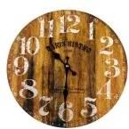 Drevené hodiny Paris Bistro