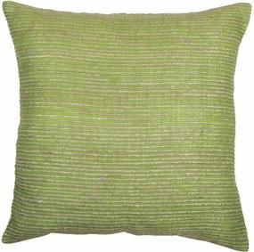 Zelený poťah na vankúš Tiseco Home Studio Rimboo, 45 × 45 cm