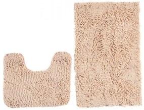 Sada kúpeľňových koberčekov CHENILLE krém MSE-35 2PC
