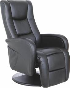 HALMAR Pulsar relaxačné kreslo čierna