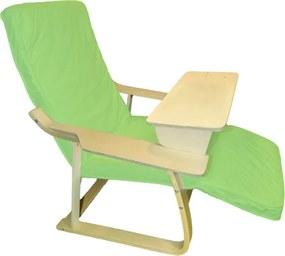 Multipohodlie Veget Kreslo Fialová Skrátený Stolík