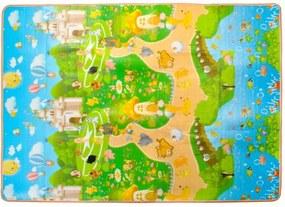 ISO Hracia podložka pre deti 180x150x1 cm, 7871