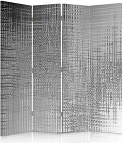 CARO Paraván - Film Effect | štvordielny | obojstranný 145x180 cm