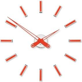 Dizajnové nalepovacie hodiny Future Time FT9600RD Modular red 60cm