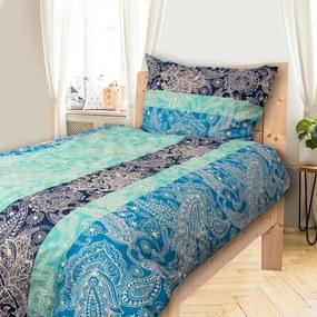 HOD Obliečky VANESA blue Bavlna 70x90 140x200 cm