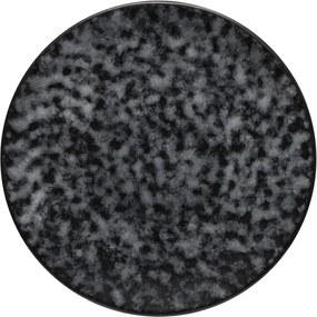 Sivý kameninový podnos Costa Nova Roda Mimas, ⌀ 22 cm