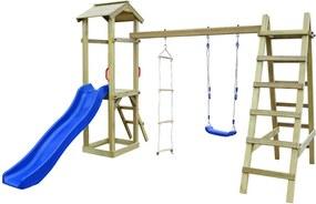 Drevené detské ihrisko 2