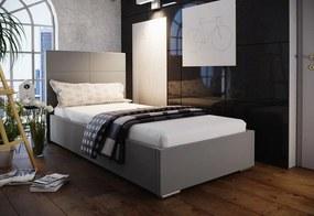 Jednolôžková čalúnená posteľ FOX 4, 80x200, Sofie 23