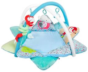 PLAYTO Nezaradené Luxusná hracia deka s melódiou PlayTo Fox Modrá |