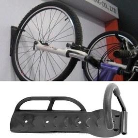 ISO Držiak bicykla na stenu, čierna, 890
