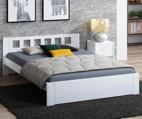 AMI nábytok Postel DMD8 120x200cm bílá