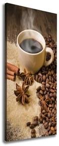 Foto obraz na plátne Hrnček kávy pl-oc-50x125-f-75552757