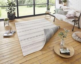 Bougari - Hanse Home koberce Kusový koberec Twin Supreme 103753 Grey/Cream - 80x150 cm