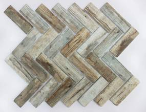 Sklenená mozaika Premium Mosaic brown 28x33 cm mat MOSV98PBR