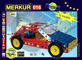 Merkur Stavebnica 016 Buggy 10 modelov - 205 ks