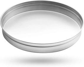 Podnos na poháre nerezový 32 cm