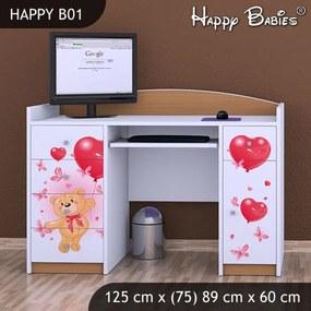 Písací stôl Happy Buk B01
