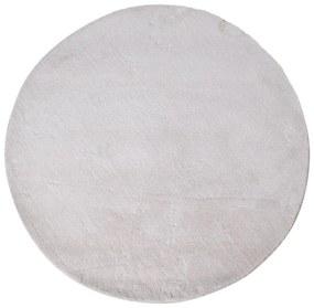 Biely okrúhly koberec House Nordic Florida, ø 120 cm