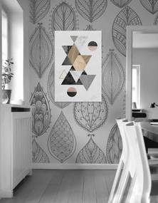 Obraz na stenu Broken Deformation/ Dan Johannson XOBDJ043E1