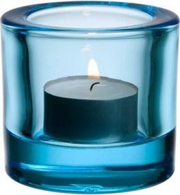 Svietnik Kivi, svetlo modrý Iittala