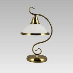 Interierové rustikálne svietidlo PREZENT VIOLA zlatá 75356