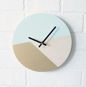 Mentolovo-zlaté  hodiny