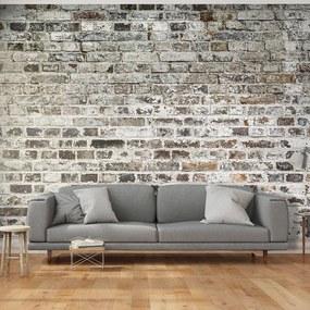 Fototapeta - Stará tehlová stena 200x140 + zadarmo lepidlo