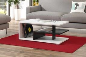 LINK biely / čierny, konferenčný stolík