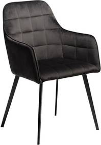 Čierna stolička DAN-FORM Denmark Embrace