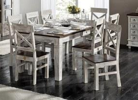 Bighome - ANTIK Jedálenský stôl 90x90 cm, mango a akácia