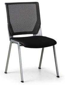 Konferenčná stolička Spare, čierna