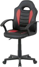 Sconto Kancelárska stolička FRODO červená/čierna