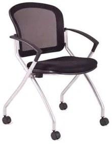Konferenčná stolička Metis, čierna