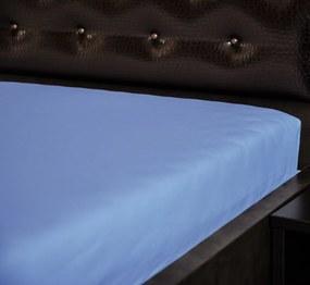 Froté nepremokavá napínacia plachta Modrá Rozmer: 60 x 120 cm