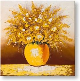 Ručne maľovaný obraz KVETY – 1 dielny YOBDA032E1