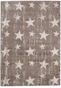Kusový koberec Star hnedý, Velikosti 80x150cm