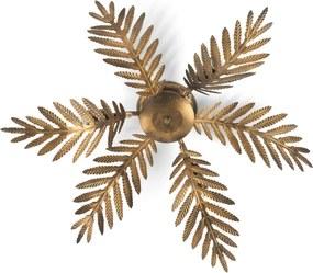 Nástenné svietidlo Felce papradie bronz, Ø 60cm